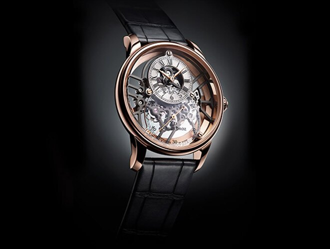 Jaquet Droz Grande Seconde Skelet Red Gold
