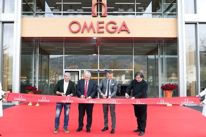 Omega's newest factory