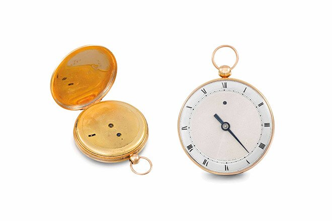 Christie's auctions: Breguet enriches its historical collection