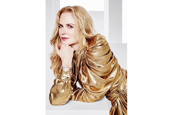 Nicole Kidman for Omega Constellation