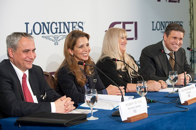 Longines formalizes record 10-year partnership with the FEI