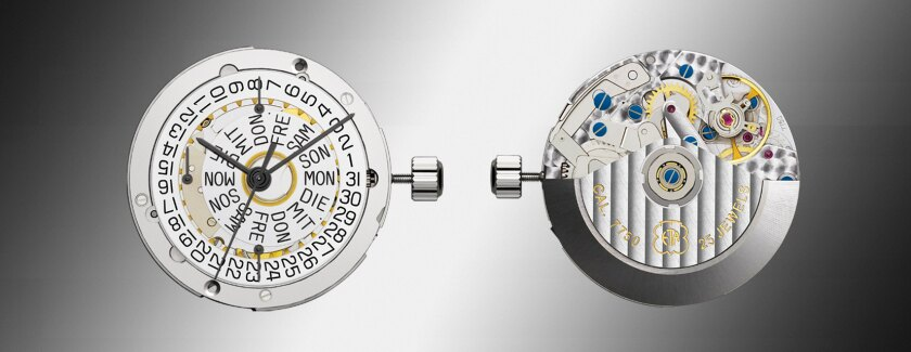 ETA mechanical watch movement