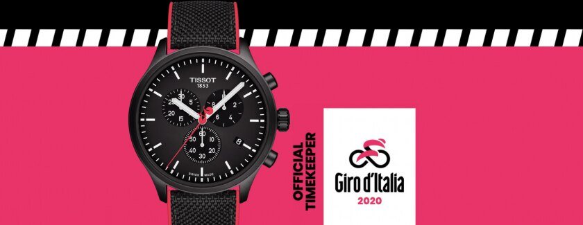 Tissot and the Giro d'Italia