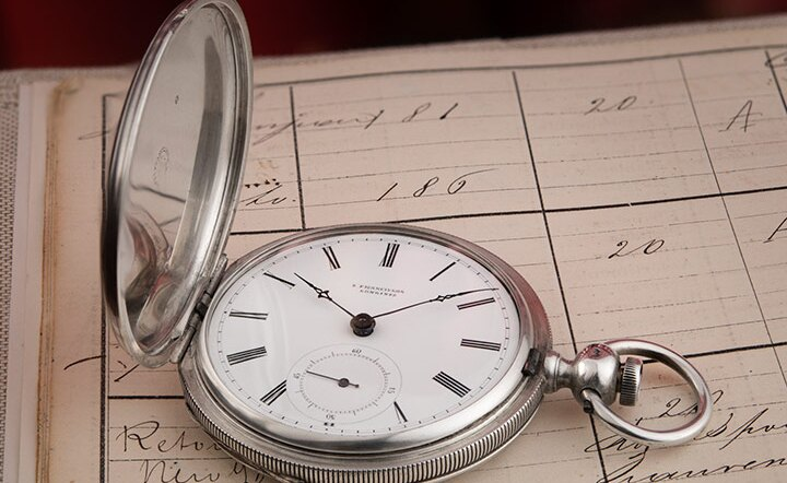 A collector finds the oldest Longines watch known to date
