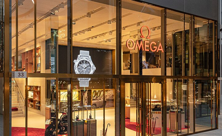 Omega Joins The Circle With an Immersive Boutique