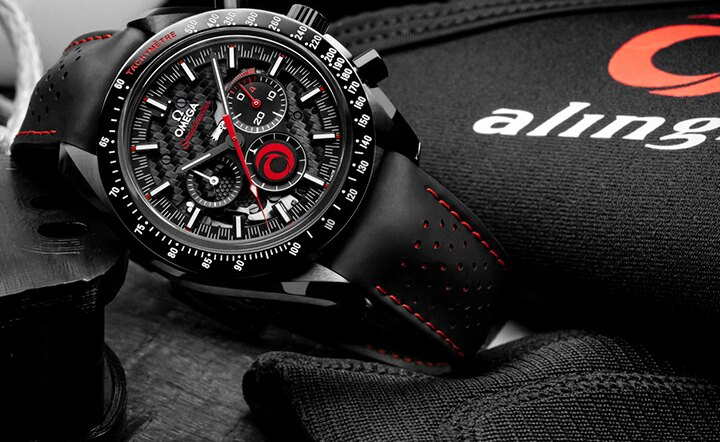 OMEGA and ALINGHI celebrate their partnership with a brand new Speedmaster