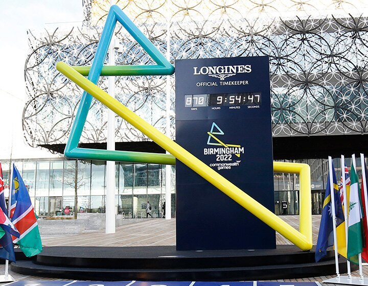 Birmingham 2022 Countdown Clock is revealed