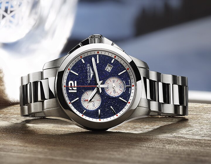 The Conquest Chronograph by Mikaela Shiffrin