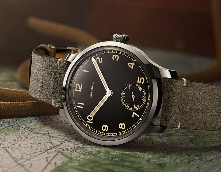 The Longines Heritage Military 1938
