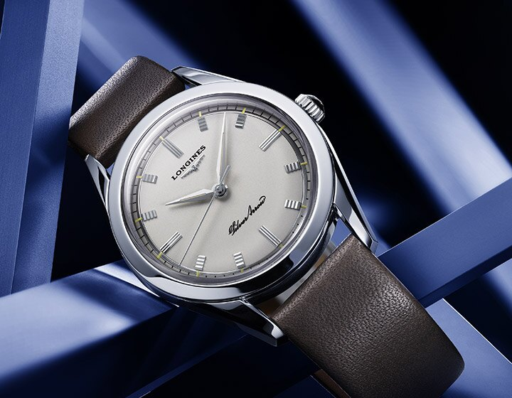Back to the future for the Longines Silver Arrow