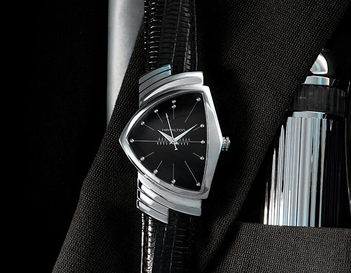 La Hamilton Ventura, montre officielle du film Men in Black