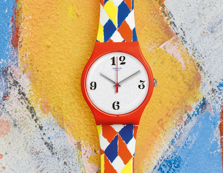 Swatch presents Joe Tilson at La Biennale Arte