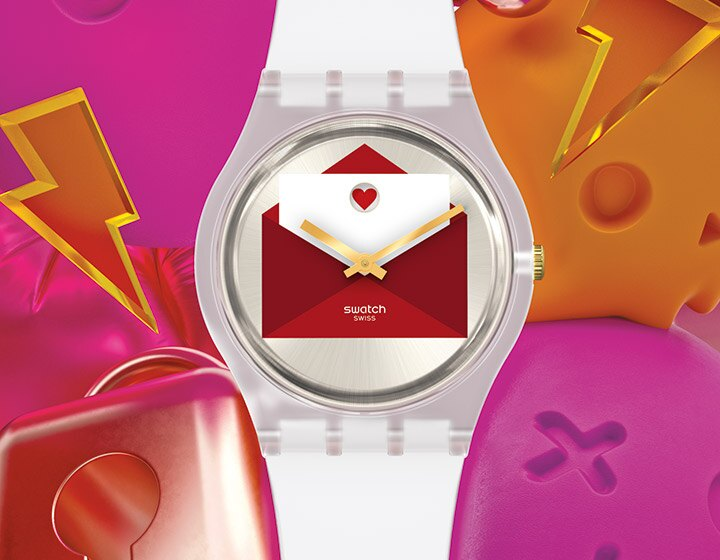 From Swatch with love